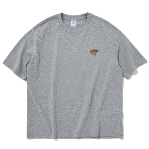 Eagle Embroidered Oversized T-Shirt