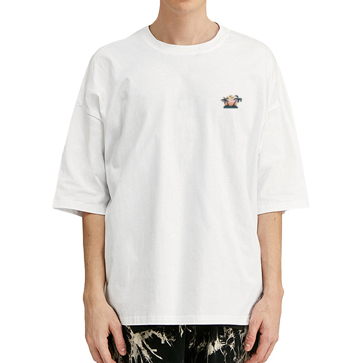 Island Embroidered Oversized T-Shirt