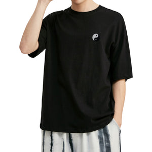 Balance Embroidered Oversized T-Shirt