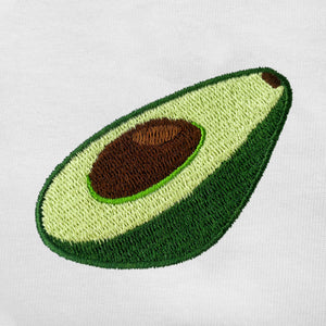 Avocado Embroidered Oversized T-Shirt
