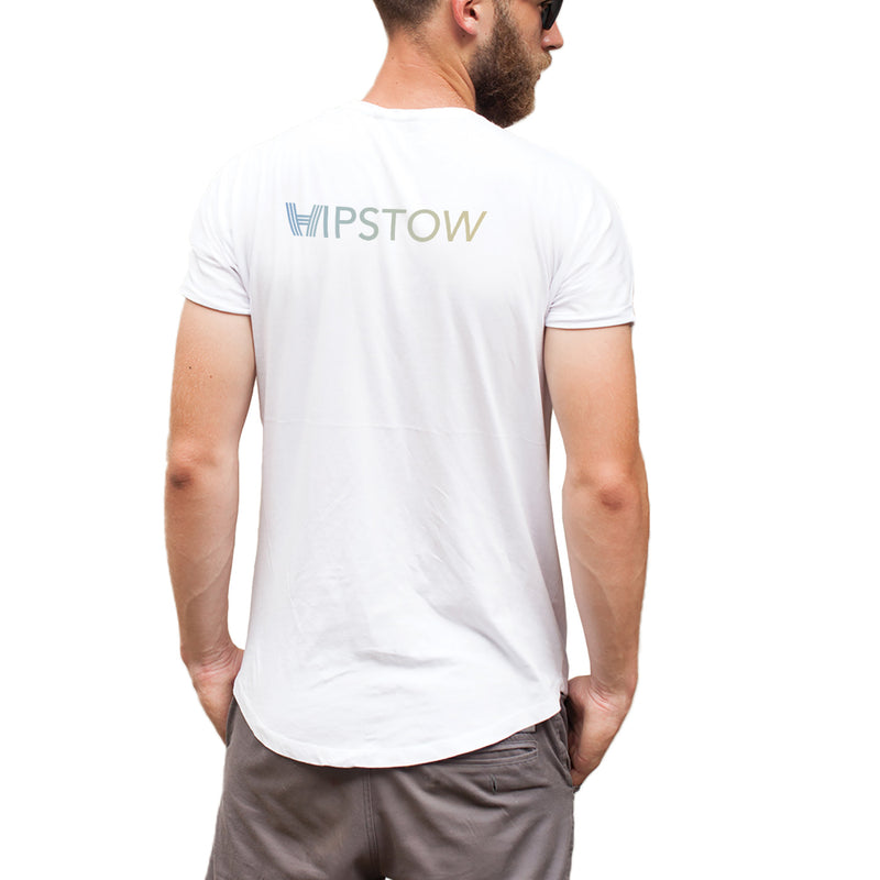 Gradient Hipstow V-Neck T-Shirt