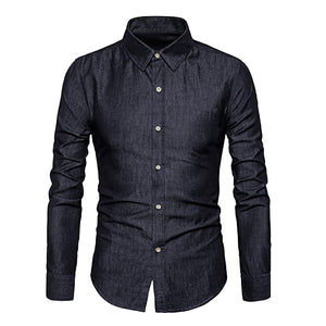 Soft Denim Button Shirt