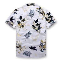 Golden Leaves Button Shirt