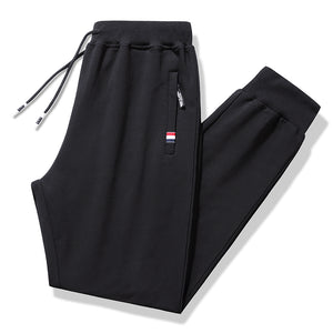 Tracksuit Pants With Ankle Cuff