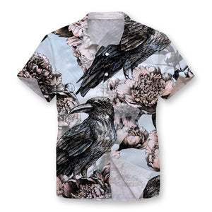 Lost Raven Button Shirt