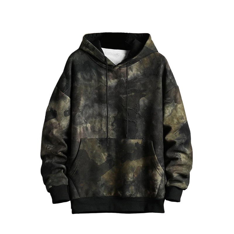 Baggy Camouflage Hoodie