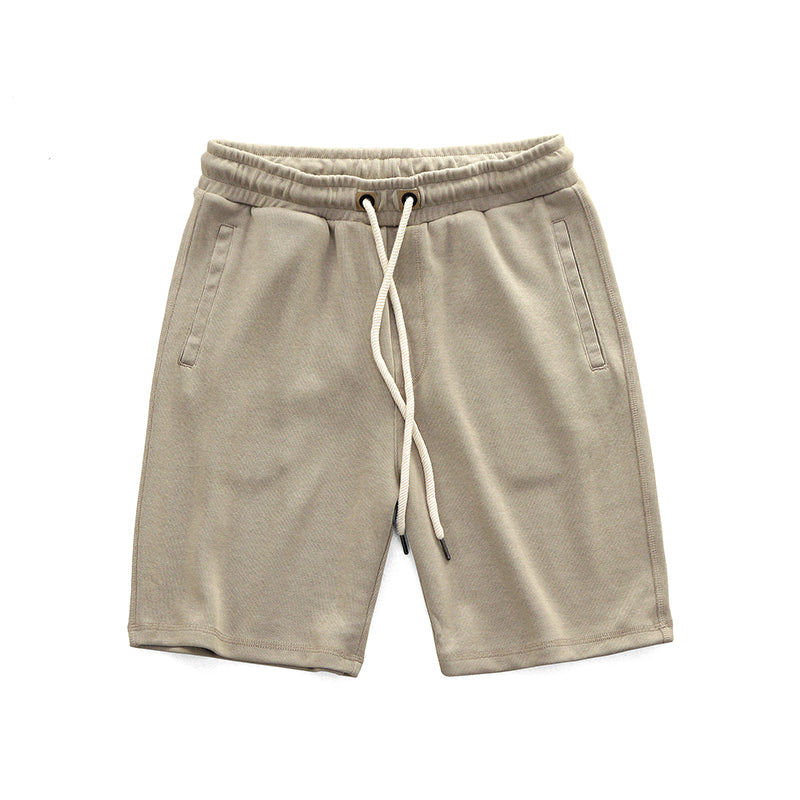 Elastic Waist Cotton Shorts