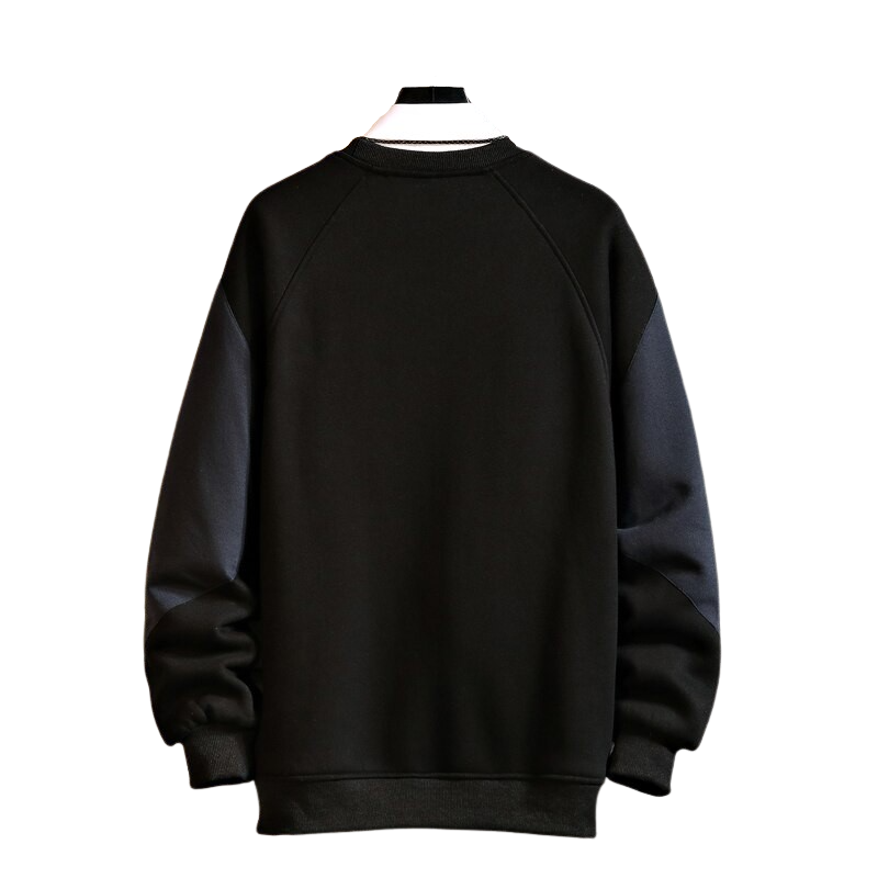 O-Neck Side Pocket Sweatshirt