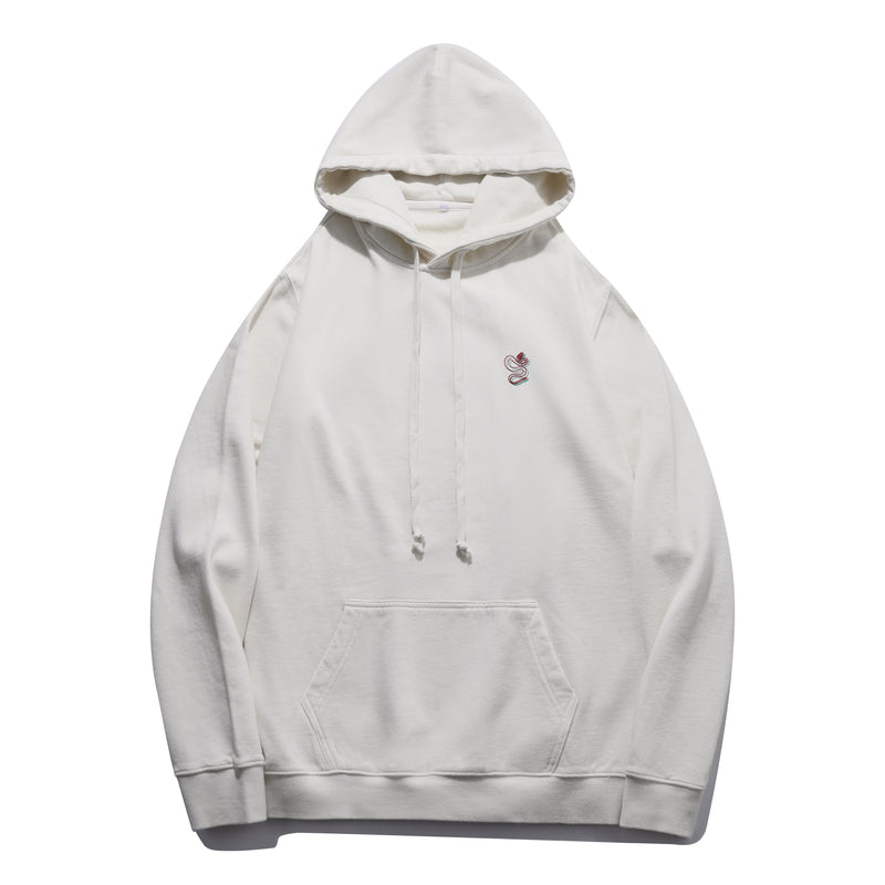 B&R Snake Embroidered Hoodie