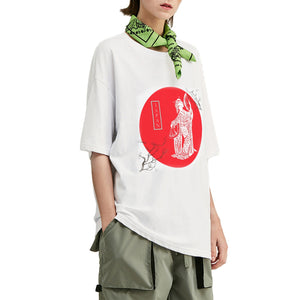 Geisha Dance Oversized T-Shirt