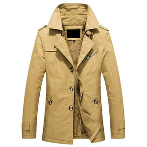 Middle Length Thicker Coat