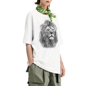 Philosopher Lion V2 Oversized T-Shirt