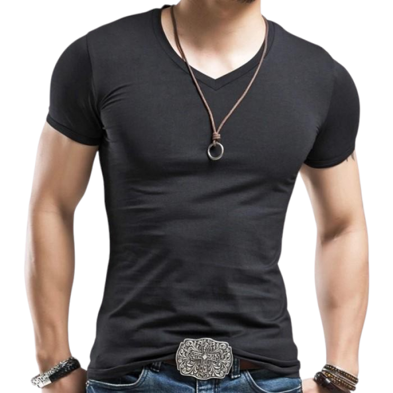 V-Neck SlimT-Shirt