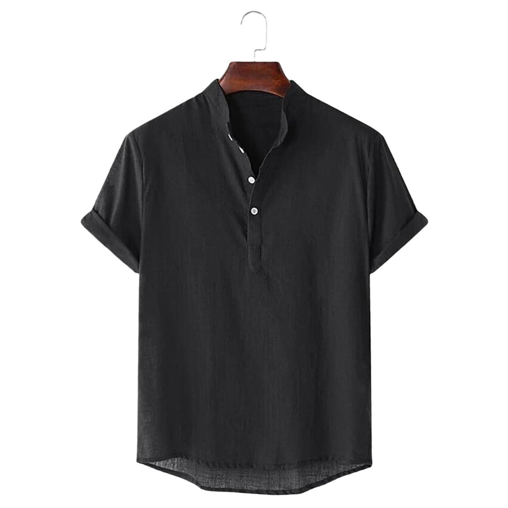 Linen Blend Soft Feel Shirt