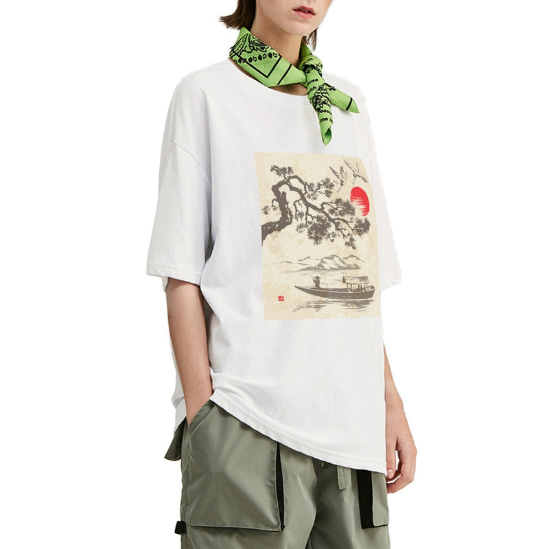 Lake Trip Oversized T-Shirt