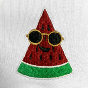 Watermelon Embroidered Oversized T-Shirt