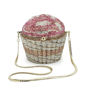 ICY GIRL PINK Cupcake Purse