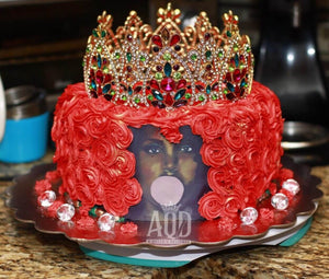 """She Is Royalty"" Cake"