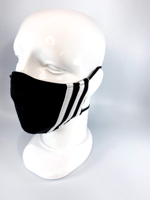 Upcycled Adidas Face Mask