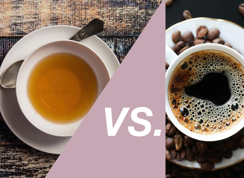 WHY YOU SHOULD GIVE UP COFFEE FOR TEA