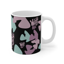 Load image into Gallery viewer, Witty Koi's All Over Print 11oz Mug (Black)