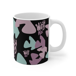 Witty Koi's All Over Print 11oz Mug (Black)