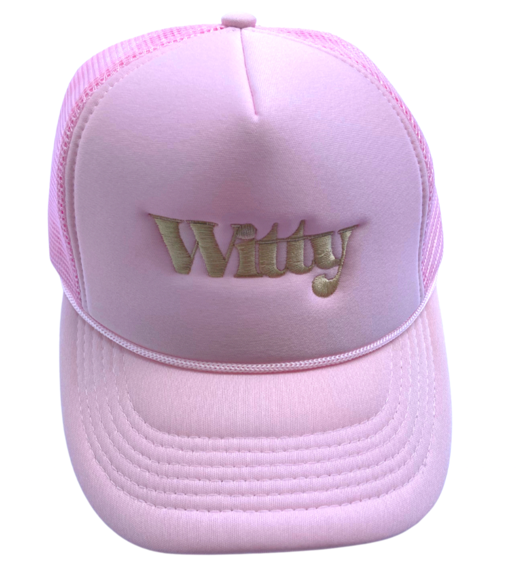 WITTY. bubble gum pink.