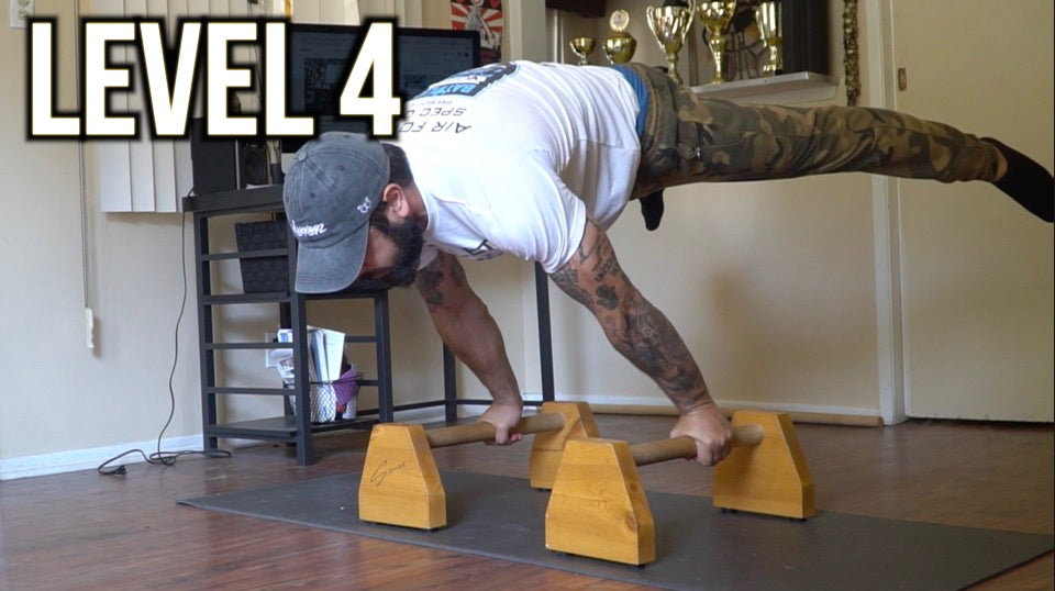Level 4 Planche Workouts