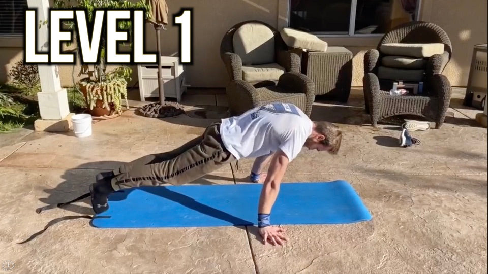 Level 1 Planche Workouts