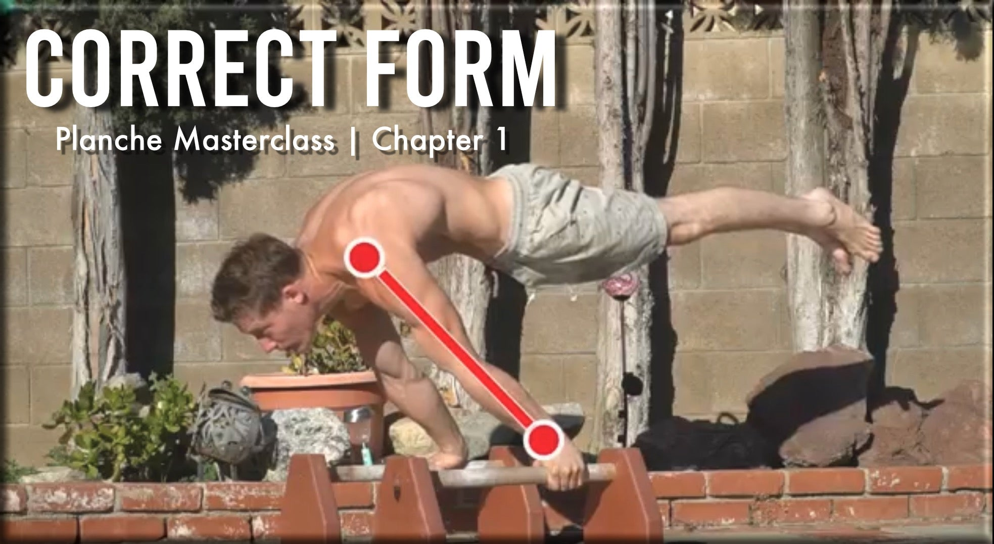 Planche Masterclass Chapter 1