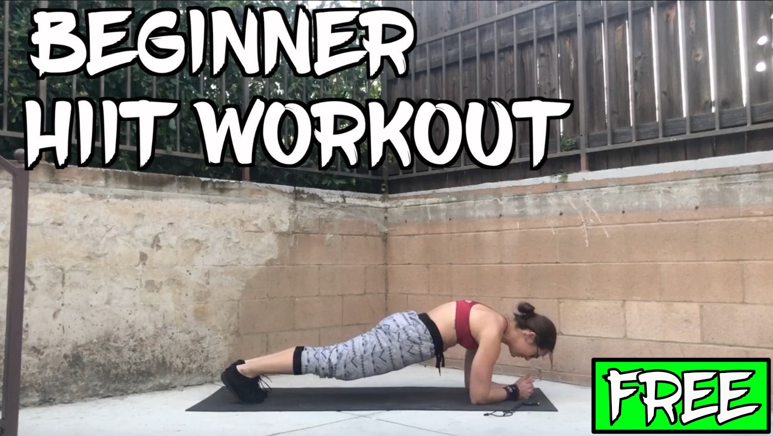 Free Beginner HIIT Workout