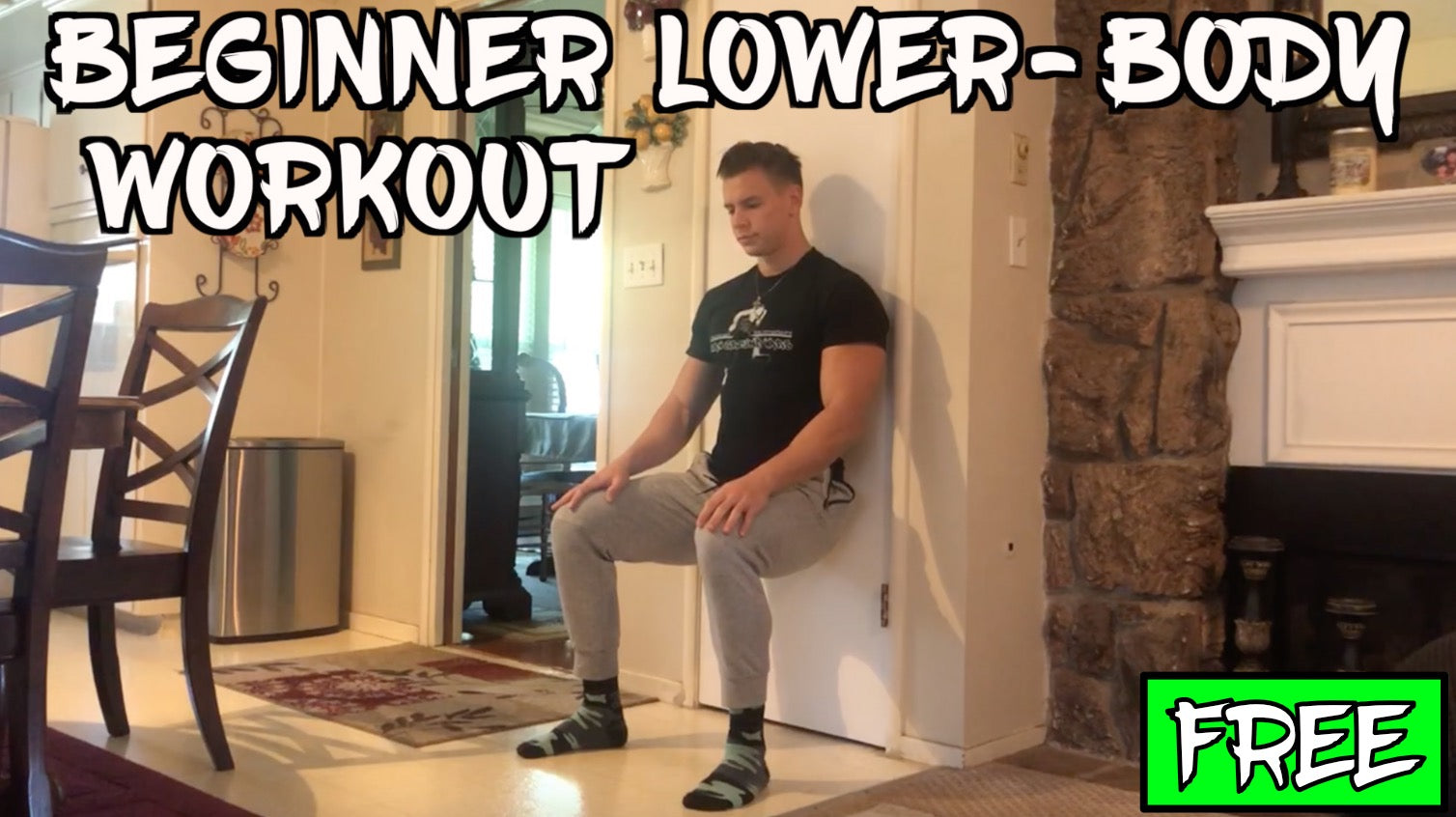 Free Beginner Lower-Body At Home Workout