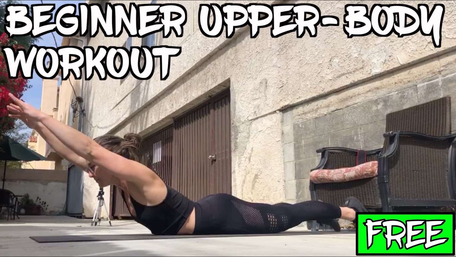 Free Beginner Upper-Body Workout