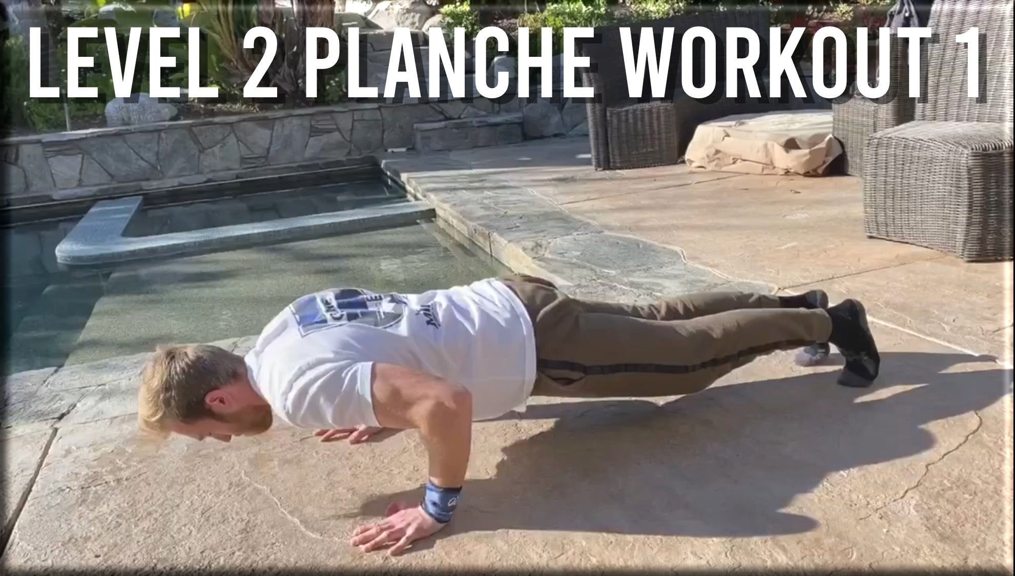 Level 2 Planche Workout 1