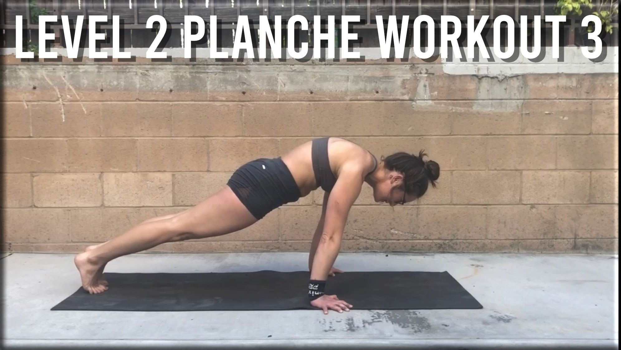 Level 2 Planche Workout 3
