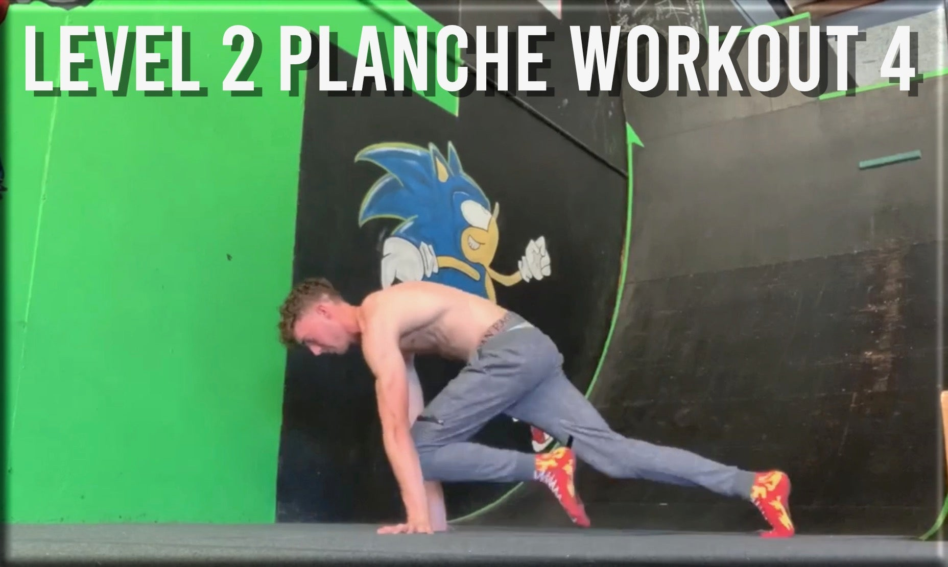 Level 2 Planche Workout 4