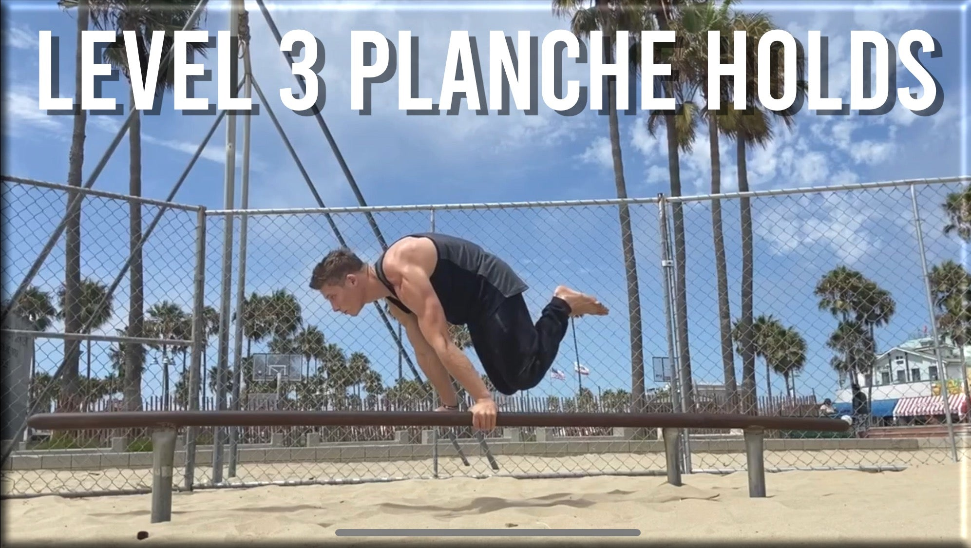 Level 3 Planche Holds