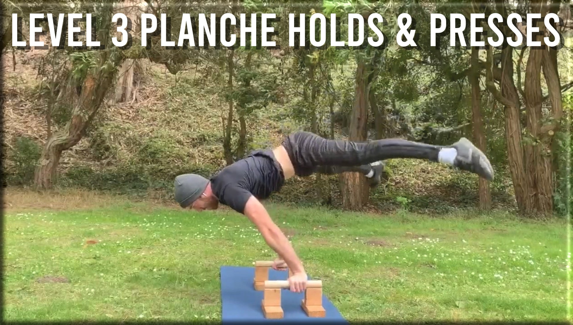 Level 3 Planche Holds & Presses
