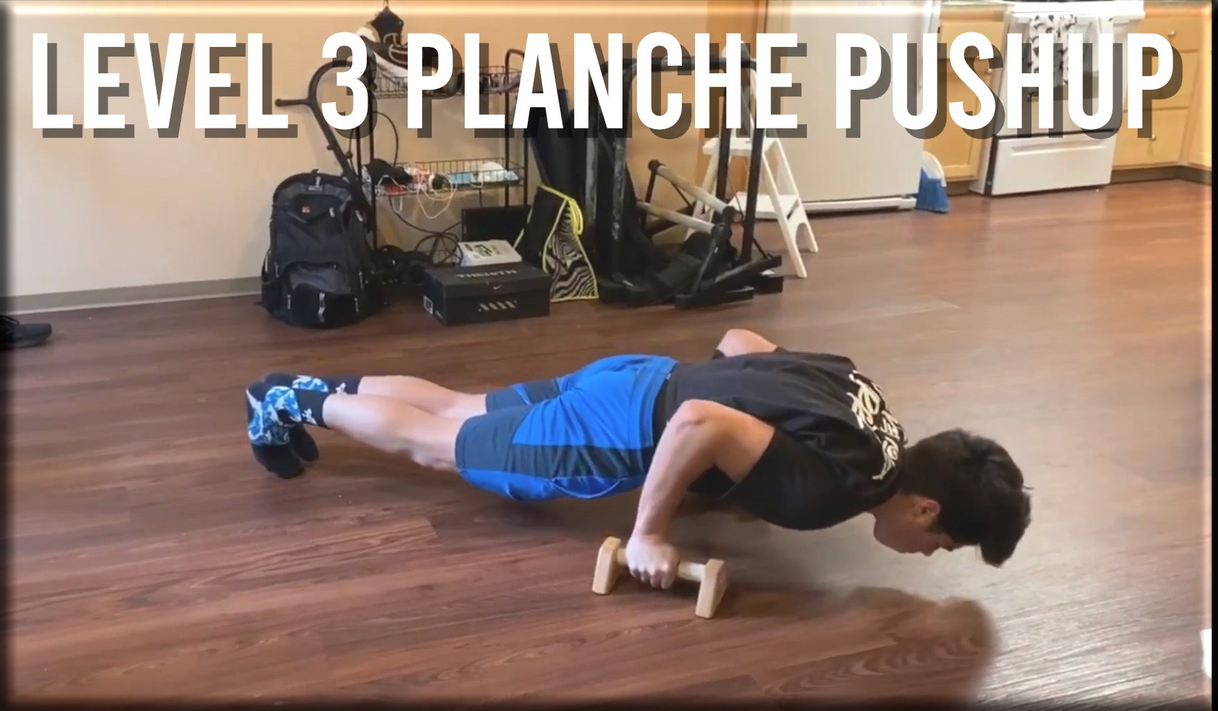 Level 3 Planche Pushup