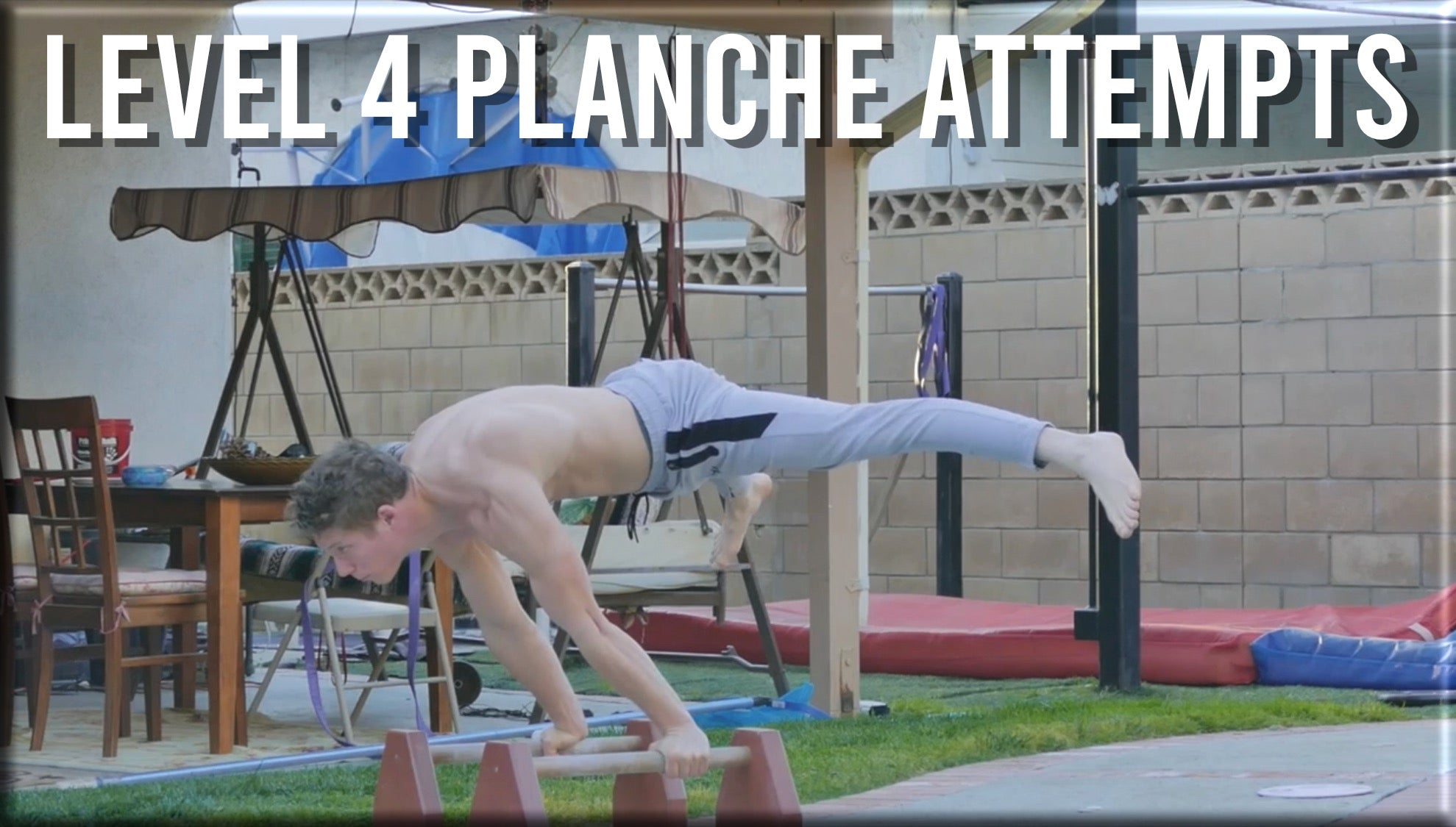 Level 4 Planche Attempts
