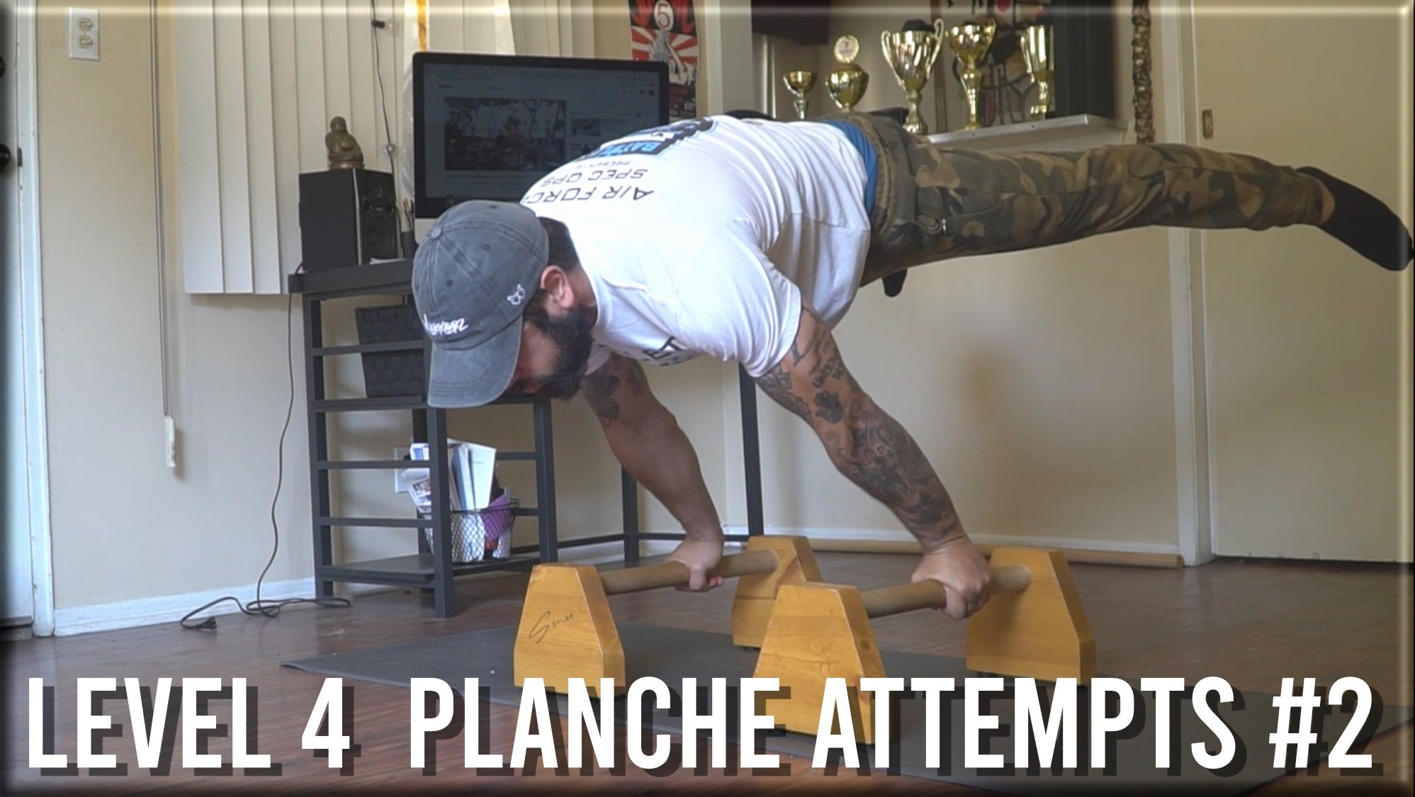 Level 4 Planche Attempts #2