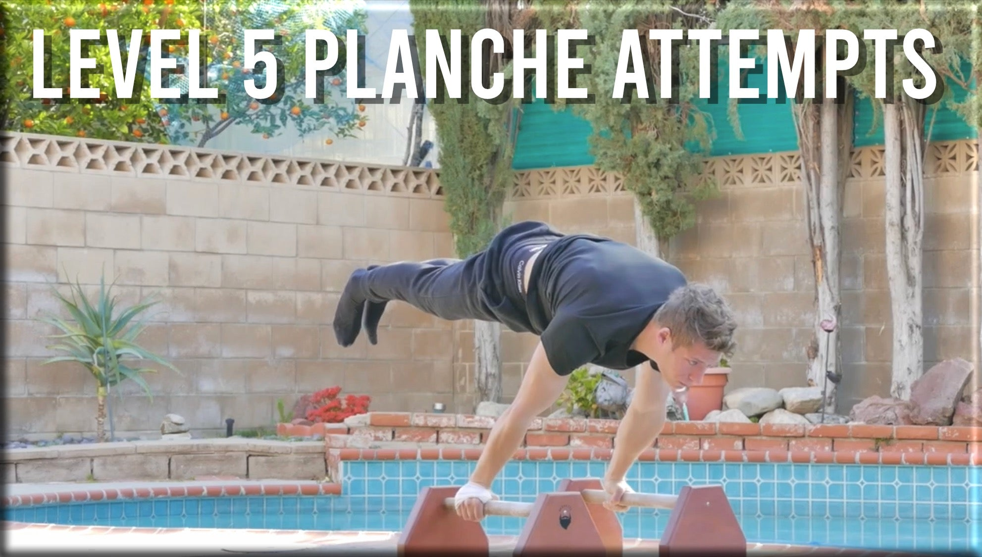 Level 5 Planche Attempts