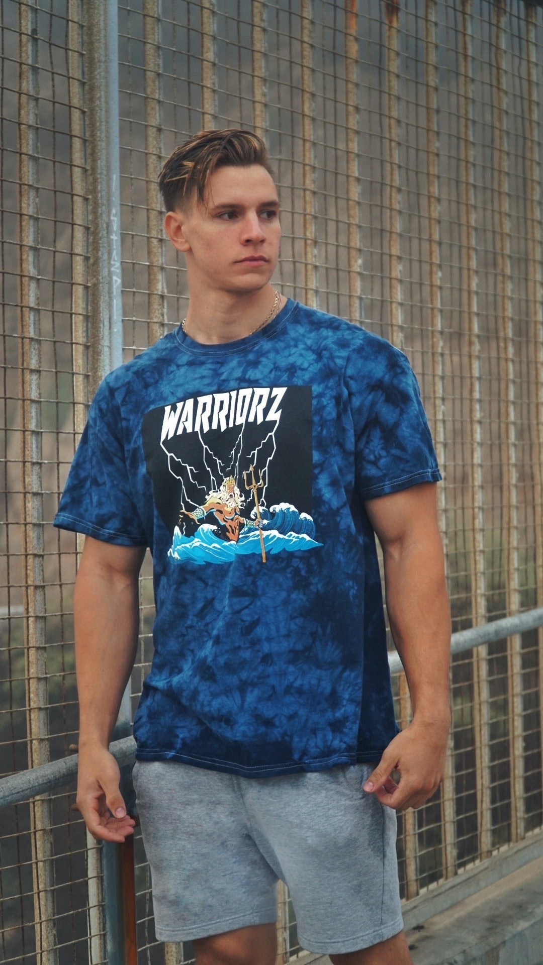 LIMITED EDITION POSEIDON TEE - West Coast Warriorz
