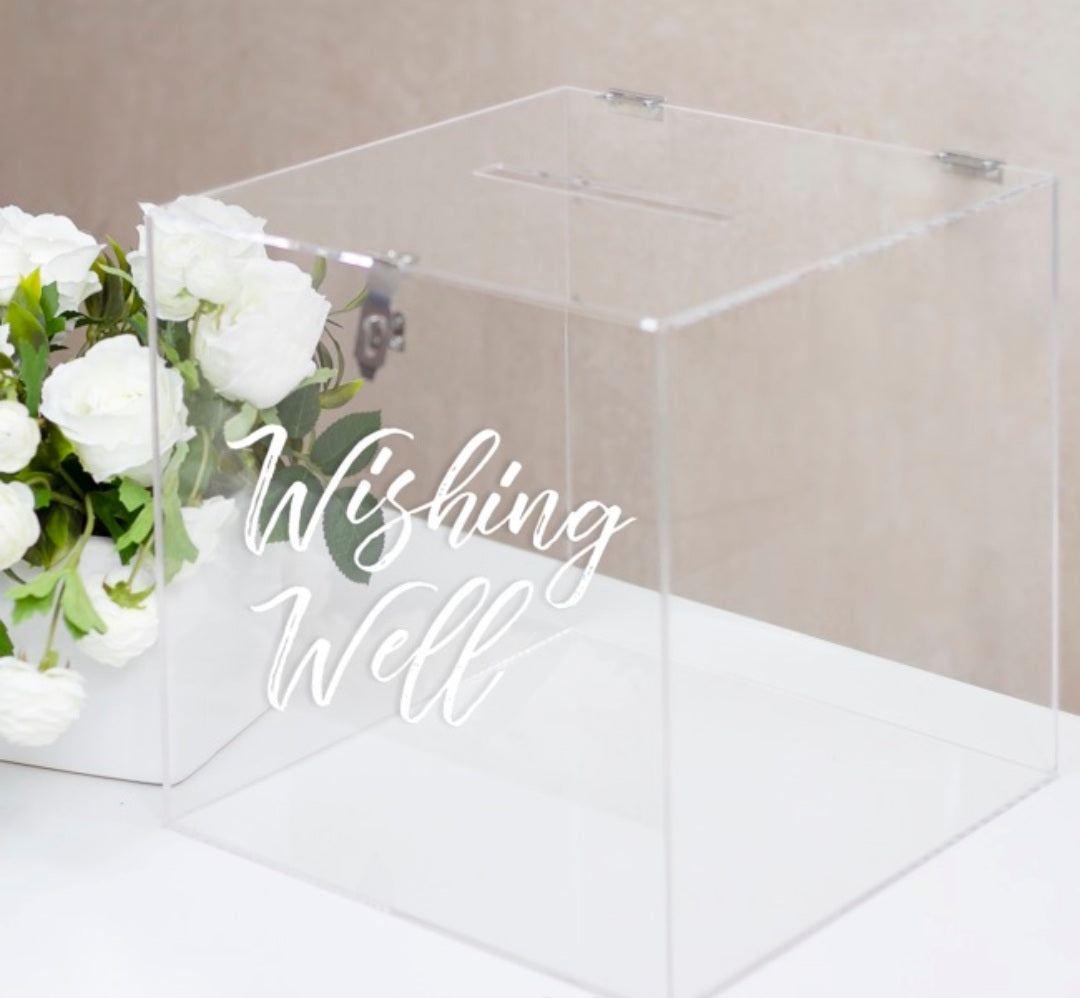 Acrylic Wishing Well