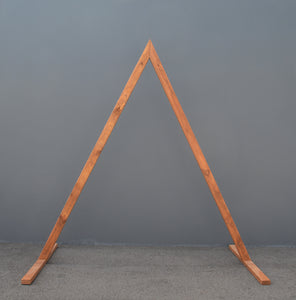 Wooden Triangular Arbour