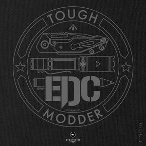 TOUGH EDC MODDER No5/V2 - Short Sleeve T-Shirt