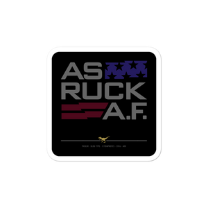 AS RUCK A.F. No16/V2 - Sticker