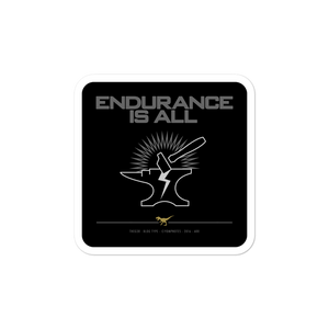 ENDURANCE IS ALL No16/V4 - Sticker