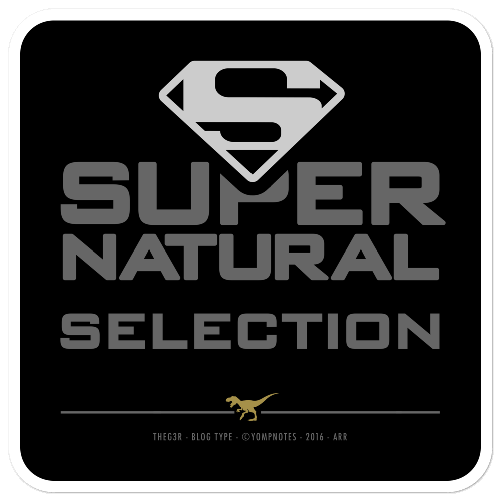 SUPER NATURAL SELECTION No16/V5 - Sticker