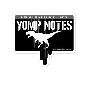 YOMPOAUR STENCIL No1/V1 - Sticker